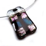Glashanger dichroide glas paars