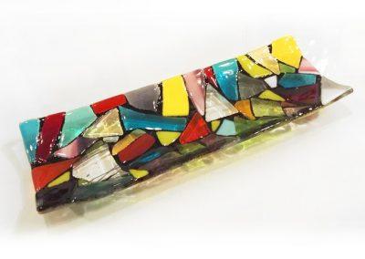 gekleurde-kleurrijke-glazen-schaal-handgemaakt
