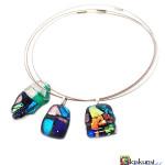 glasfusing sieraden hangers