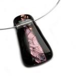 glashanger paars gefused glas