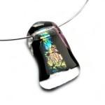 glazen ketting hanger glasfusion
