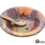 glazen schaal glasfusing glaskunst