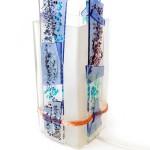 lampje glasfusing blauw