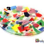 schaal confetti glaskunst