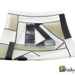 glazen schaal glaskunst fusing