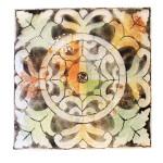 zeefdruk wandpaneel glaskunst